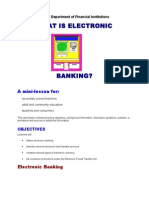 What is Electronic Banking Mini (1)