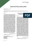 Bioecological and Nutritional Control of Disease - Prebiotics, Probiotics