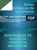 Bases Psicobiologicas Violencia