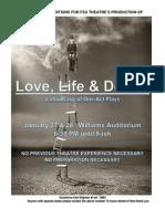 FSU Theatre's Production of Love, Life & Death