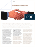 Arbitration & Mediation_a Comparisson
