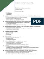 Sélection Ostéobio Histo 30 QCM
