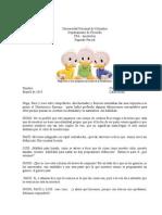 Segundo Parcial CFA - Aristóteles - 2014