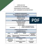 Curriculum Vitae de Hector Escobedo
