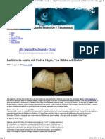 La Historia Oculta Del Codex Gigas, _La Biblia Del Diablo