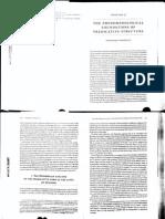 Phenomenological Foundations of Predicative Structure