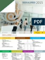 Tarifas Correos PYB 2015