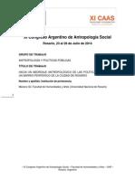 Hacia un abordaje antropológico de las políticas públicas en un barrio periférico de Rosario