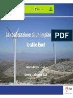 [Ingegneria eBook] - Fotovoltaico - Enel La Realizzazione Di Un Impianto Eolico