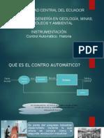 Historia Control Automático
