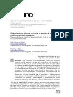 El aporte de un enfoque territorial al estudio de los conflictos socio-ambientales