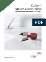 DuPont Corian Brasil Propriedades e Resistencia