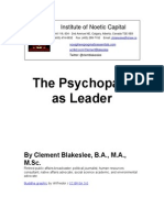 The Psychopath as Leader