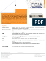 Raisecom Datasheet_iTN167_USA 2.0 Certified