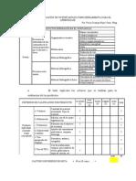 Rubrica de Evaluacion de Un Portafolio Para El Aprendizaje