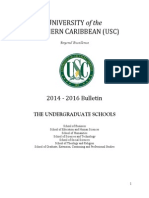 2014-2016 Undergraduate Bulletin