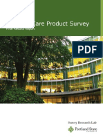 Personal Care Product Survey Report