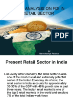 swot analysison fdi in retail sector02PPT