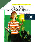 Caroline Quine Alice Roy 02 BV Alice et le manoir hanté 1930.doc