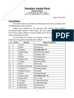 List of Candidate for Delhi Legislative Assembly Election 2015 on 19.1.2015
