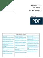 Milestones - RS - Student View