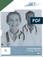 Oet Practice Material Speaking-medicine