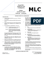 MLC EXAM SOA
