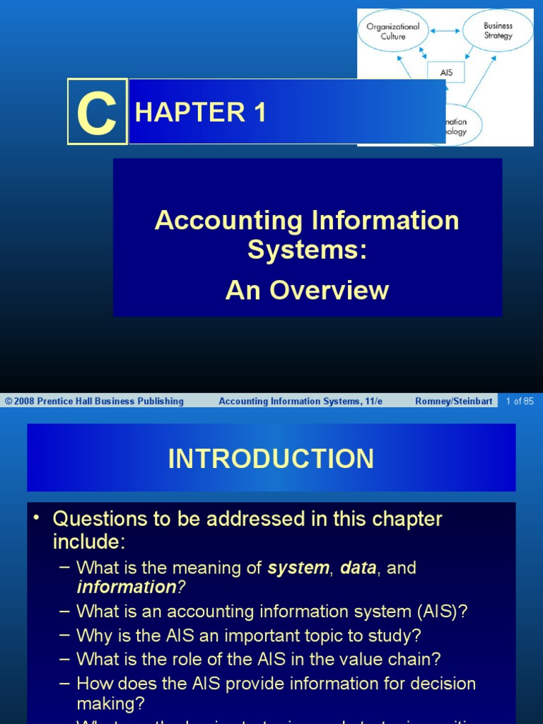 accounting information systems 2 Discuss how organizations use enterprise resource planning (erp) systems to process transactions and provide information 2- accounting information systems.