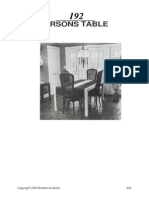 Parsons Table Guide