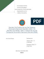 Comparación Entre El Decreto 6069 y 1445