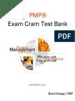 PMP Exam Cram Test Bank