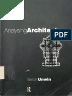 Simon Unwin Analysing Architecture 2009
