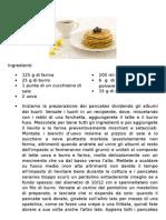 Ricette - Fabrizio