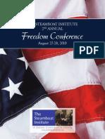 2010 Freedom Conference Program
