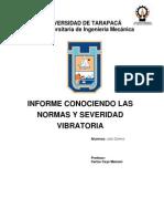 Informe Conociendo Las Normas y Severidad Vibratoria Ficha 3-2