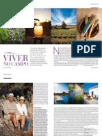 Reportagem sobre a quinta das lavandas na Notícias Magazine