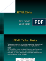 HTML Tables Tutorial with Notepad