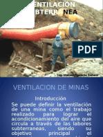 Ventilacion en Mineria Subterranea Cap i