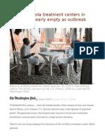 U.S.-built Ebola Treatment Centers in Liberia Are Nearly Empty as Outbreak Fades