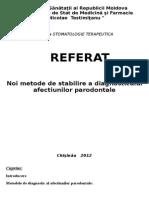 referat parodontologie