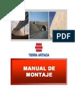 Tierra Armada Manual de Montaje PDF