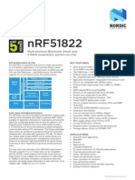 Prod Brief Nrf51822 v2.3