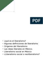 Liberalismo en México