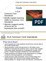 common core english language arts presentation jan 2015