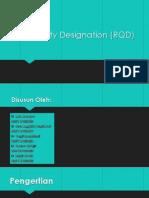 The Rock Quality Designation geomekanika
