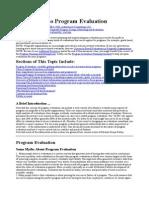 Basic Guide Program Evaluation
