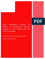 Proposal on coca cola company