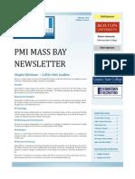PMI Mass Bay Newsletter - Feb 2013