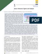 Organoiridium Complexes Anticancer Agents and Catalysts