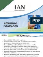 Regimen Exportacion